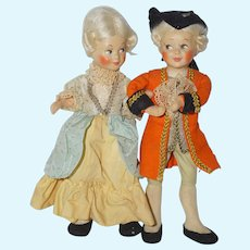 Mozart and Nanerle Dolls by Baitz - a beautiful couple