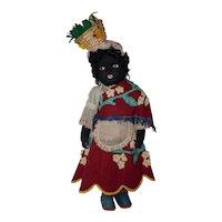"""Tagged Ethnic 17"""" Mariposa Felt Doll"""
