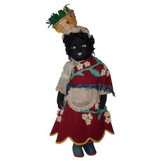 "Tagged Ethnic 17"" Mariposa Felt Doll"