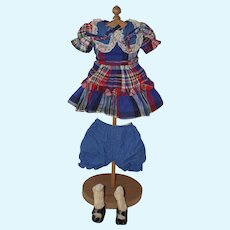 """1950's A.C. Sweet Sue outfit for 17"""" -18"""" Doll"""