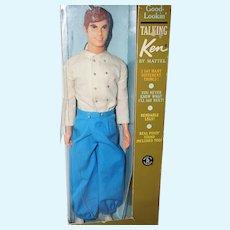 1968 Mattel Talking Ken in Original Box