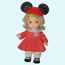 "1971 Horsman 8"" Mouseketeer Doll"