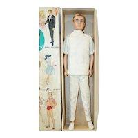 1960's Mattel Flocked Hair Dr. Ken and Box