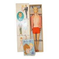 1960's Mattel Painted Hair Ken - NRFB