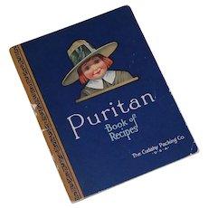 Puritan Book of Recipes Cudahy Packing Co 1924