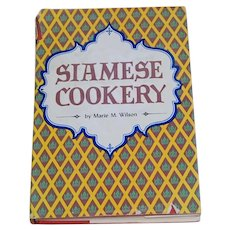 Siamese Cookery Cookbook by Marie M Wilson