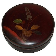 Jack in the Pulpit Japan Lacquer Trinket Box