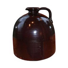 Large Beehive Jug Crock Lyons NY with Pouring Lip