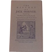 The History of Jack Horner Book of Witty Pranks