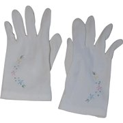Sweet Little Girl's Summer Party Gloves