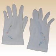Sweet Little Girl's Summer Party Gloves