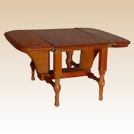 Wooden Drop Leaf Gate-leg Table for Ginny Doll