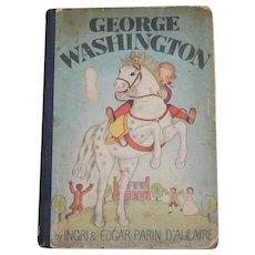1942 George Washington Ingrid and Edgar Parin D'Aulaire