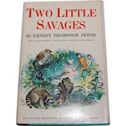 Two Little Savages Ernest Thompson Seton 1959 Book