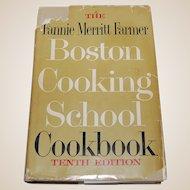 The Fannie Merritt Farmer Boston Cooking School Cookbook 1959