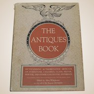 The Antiques Book 1949 Antiques Reference Guide Furniture Ceramics Glass Silver Pewter