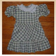 1950's Little Girl's Cotton Dress