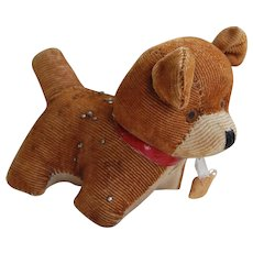 Mohair Tape Measure and Pin Cushion Dog Japan