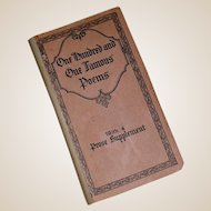 One Hundred and One Famous Poems Advertising Premium Booklet
