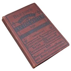 Beeton's Complete letter Writer for Ladies and Gentleman 19c. book
