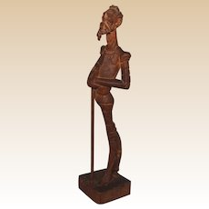 Don Quixote Wooden Carving Malaga