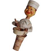 Anri Chef or Baker Mechanical Bottle Stopper