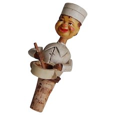 Anri Chef or Baker Mechanical Bottle Stopper