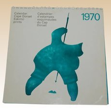 1970 Cape Dorset Eskimo Prints Calender