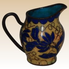 Vintage Chinese Cloisonne Miniature Pitcher
