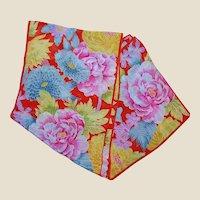 Baar & Beards Oriental Themed Silk Scarf
