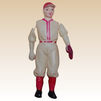 Celluloid Baseball Player #5 Occupied Japan