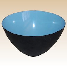 Krenit Mid Century Modern Enamel Bowl Denmark