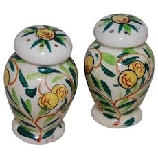 Popular Brand Vintage Delft Hand Painted Blue & White Ginger Jar Salt & Pepper Shakers Holland Pottery & China