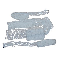 4 piece Crocheted Lace Trim over 5 yards