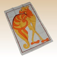 Book of Kells Irish 100% Linen Kitchen Towel Kilkenny Design Workshops