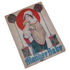 1916 The Manger Babe Christmas Children's Book