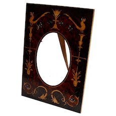 Italian Marquetry Frame on Olive Wood