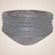 Scandinavian Art Glass 8 Bowl Set