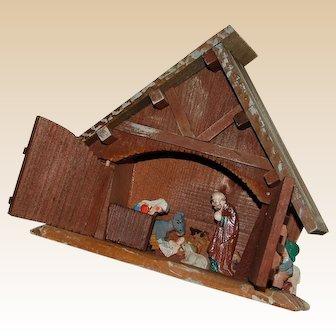 Anri Christmas Nativity Manger Scene