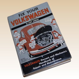 1969 Fix Your Volkswagen Book by Larry Johnson