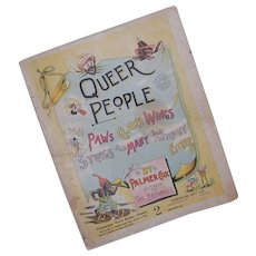 1894 Queer People with Paws Claws Wings Stings and Many without Either Book