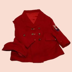 1960's Boy's Dress Jacket and Brimmed Hat