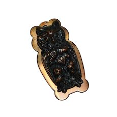 Bradley and Hubbard Wise Owl Desk Paper Clip