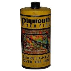 Plymouth Sea Fire Litho Can Fireplace Flame Enhancer