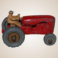 Lesney Matchbox no. 4 Massey Harris Cast Tractor