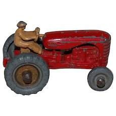 Lesney Matchbox no. 4 Massey Harris Cast Tractor