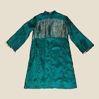 1970's India Silk Skinny Tunic