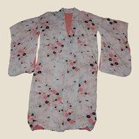 Vintage Cotton Kimono Robe