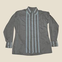 Men's Vintage Cotton Long Sleeve Shirt