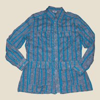 Mid-Century Hip and Cool Shirt Jacket from Bermuda